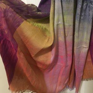 Rainbow ombré Urban Outfitter scarf